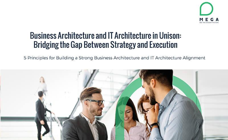 Business Architecture and IT Architecture in Unison: Bridging the Gap Between Strategy and Execution