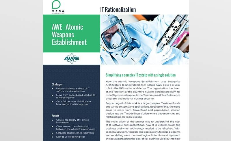 Atomic Weapons Establishment (AWE): Simplifying a complex IT estate with a single solution