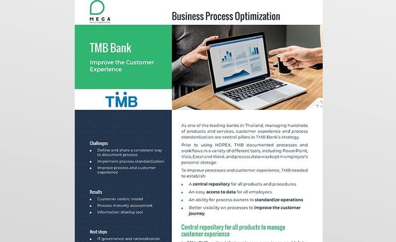 TMB Bank: Improve the Customer Experience