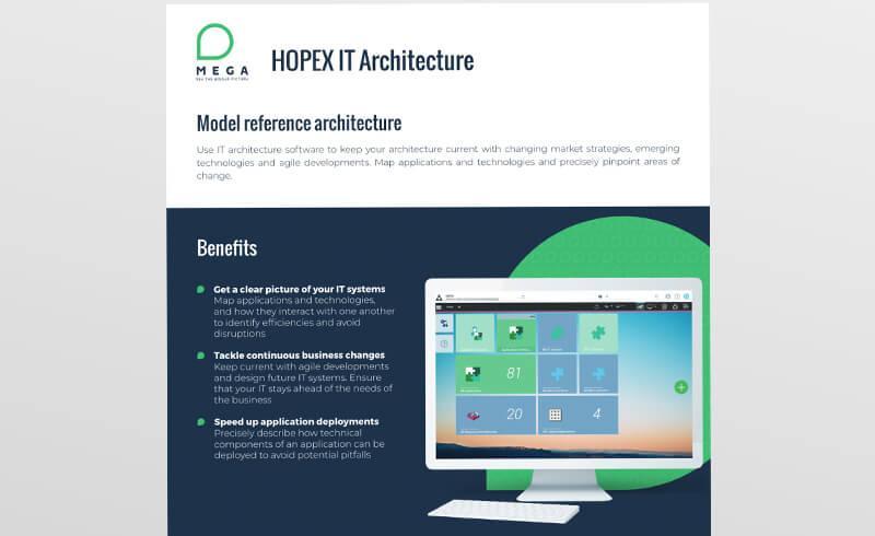 HOPEX IT Architecture
